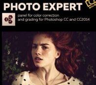 Photo expert panel for adobe photoshop cc icon