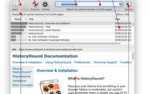 HistoryHound 2.1.1 MAC
