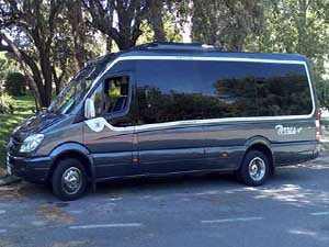 alquiler de microbus 16 plazas lujo vip en madrid para boda