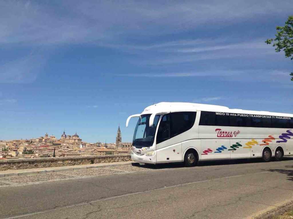 autobus 71 plazas en madrid