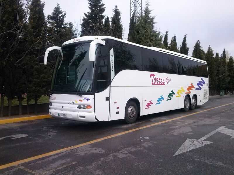 Bus rental Spain Madrid - What comfort can we expect