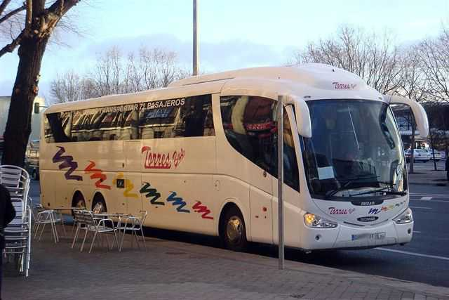 Alquiler autobuses bodas Madrid