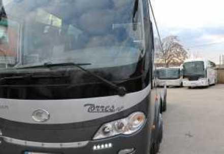 autobuz de închiriere, autobuz de închiriere de madrid