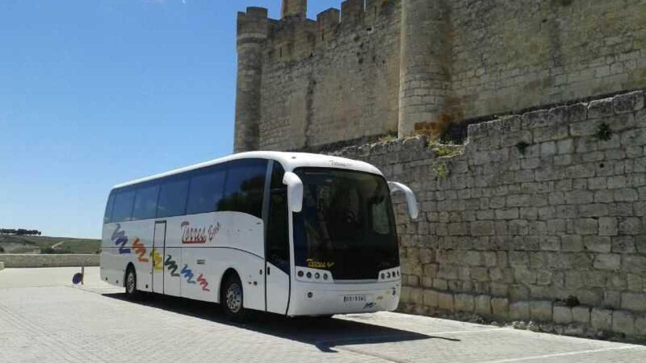 Alquiler de autobuses baratos en Madrid y Toledo
