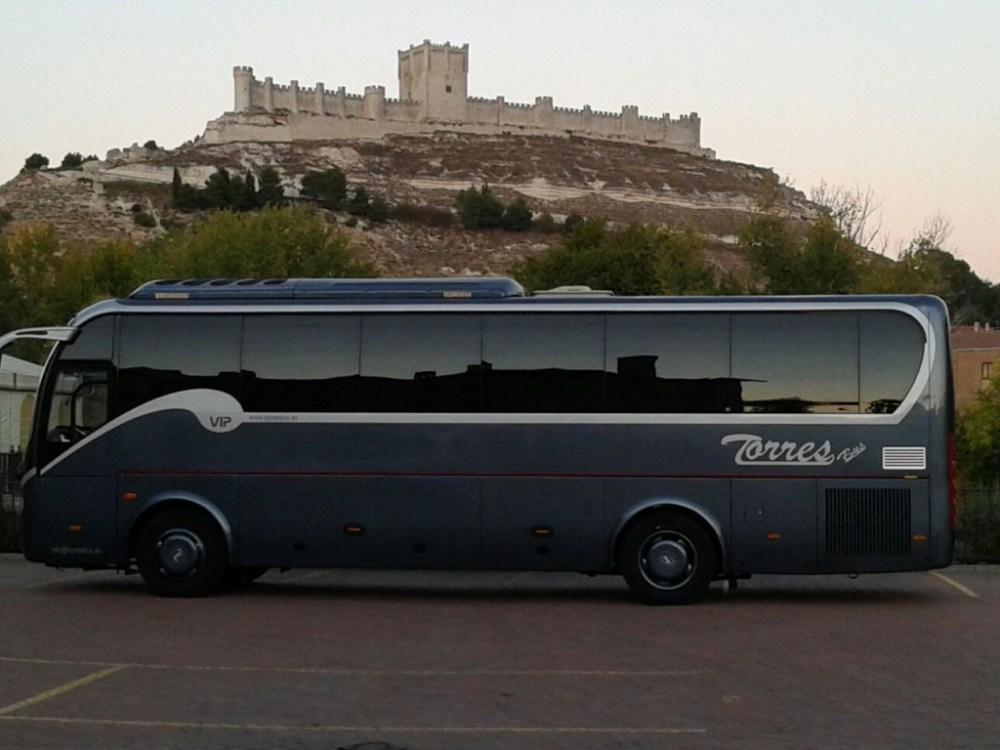 Contratar minibús VIP 30 plazas madrid y toledo