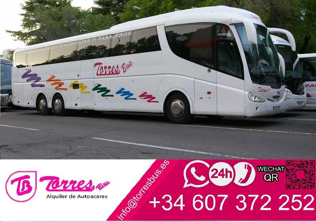 마드리드 버스 대여 | 렌트 버스 마드리드 저렴한 가격
