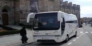 minibusz vezetővel madrid 35 ülésekkel