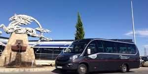 huur minibus vip 24 plazas bus en minibusbedrijf in madrid