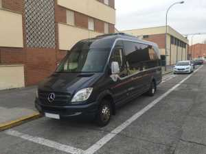 Luxuskleinbus Mercedes Madrid