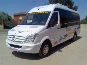 alquiler de mini autobuses en madrid empresa