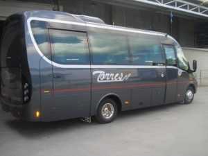 microbus renta madrid embaixadores enbajadores