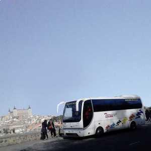 Minibus XNUMx sedili Madrid toledo