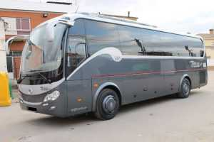 minibus with seats wide comfortable large Madrid