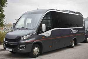 transfert exécutif en minibus aéroport discret ambassades sencill