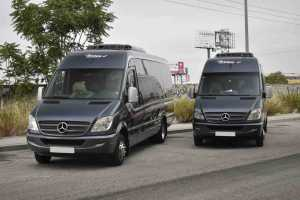 minibus rental luxury rental in madrid service à la carte