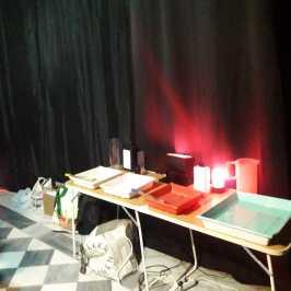 Mesa de revelado