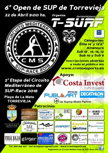 SUP Race 2013 Torrevieja Surf