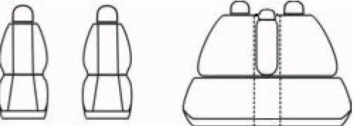 Autopotahy OPEL MERIVA I, od r. 2002-2010, Dynamic velur