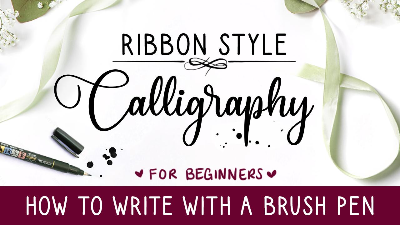 Ribbon Calligraphy Thumb