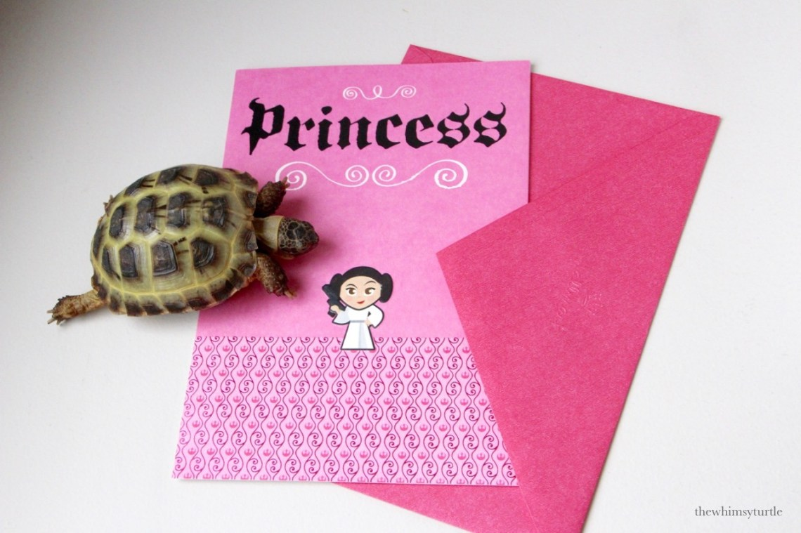 A Princess card for my princess!