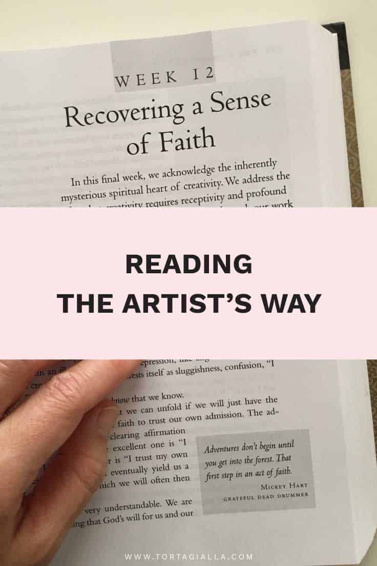 Reading The Artist's Way: Recovering a Sense of Faith