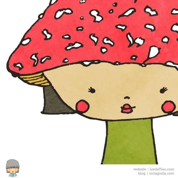 LTieu-mushroom-girl
