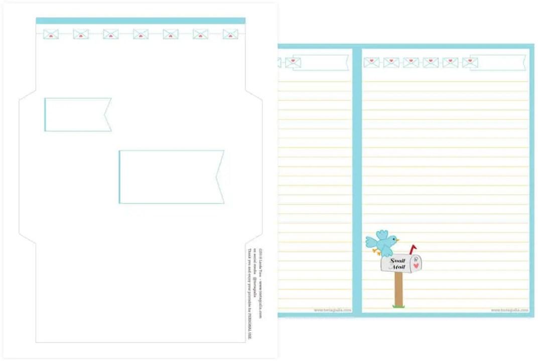 Snail-Mail-Stationery-Set-Printable