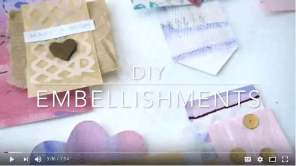 DIY Embellishments Video