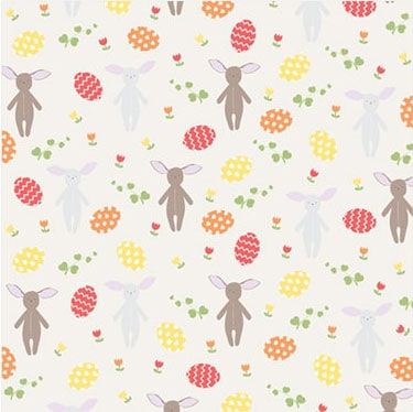 Easter Bunny Patterned Paper