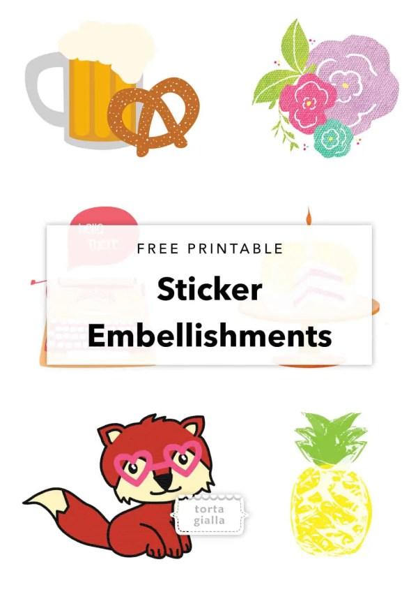 free printable sticker # 31