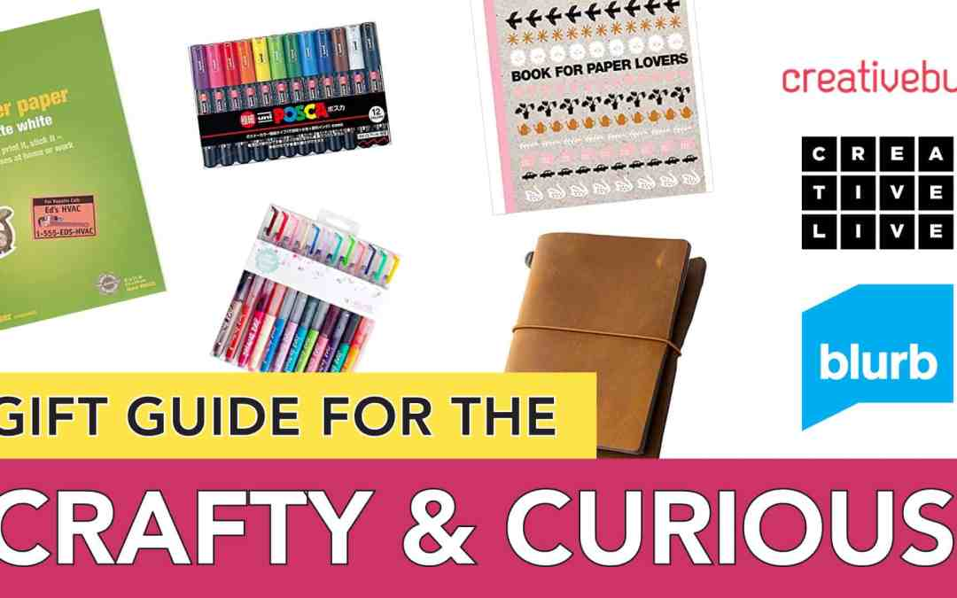 Gift Guide for the Crafty and Curious   For Creative Friends, Crafty Moms and Grandmas Alike