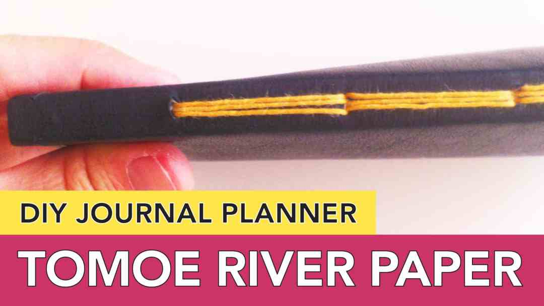 DIY Journal Planner   Tomoe River Paper