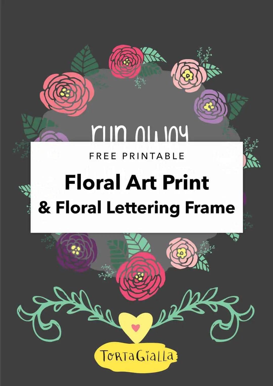 Free Floral Printables