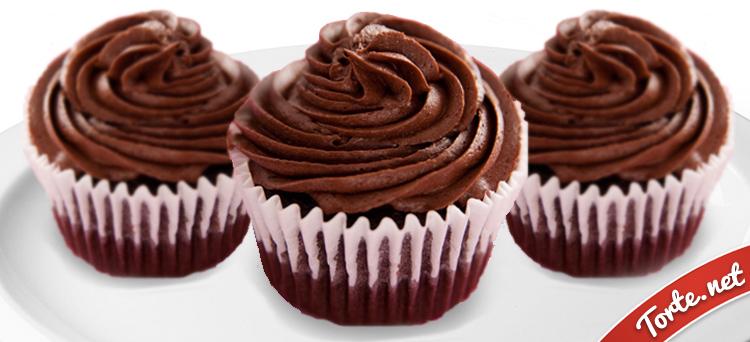 Ricetta Cupcake al cioccolato  Tortenet