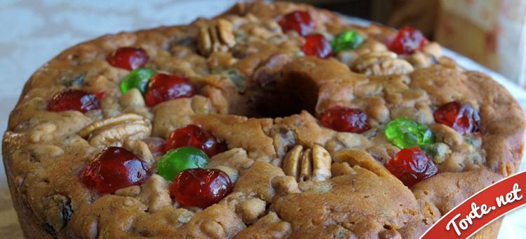 Ricetta Torta con frutta secca e canditi  Tortenet