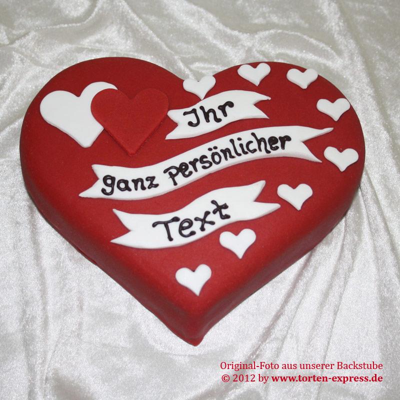 Valentinstags Torte Persnlich  Klner TortenExpress