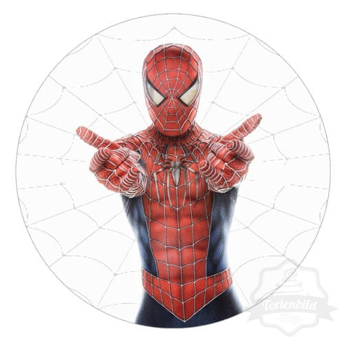 Tortenbild Spiderman Motiv 2