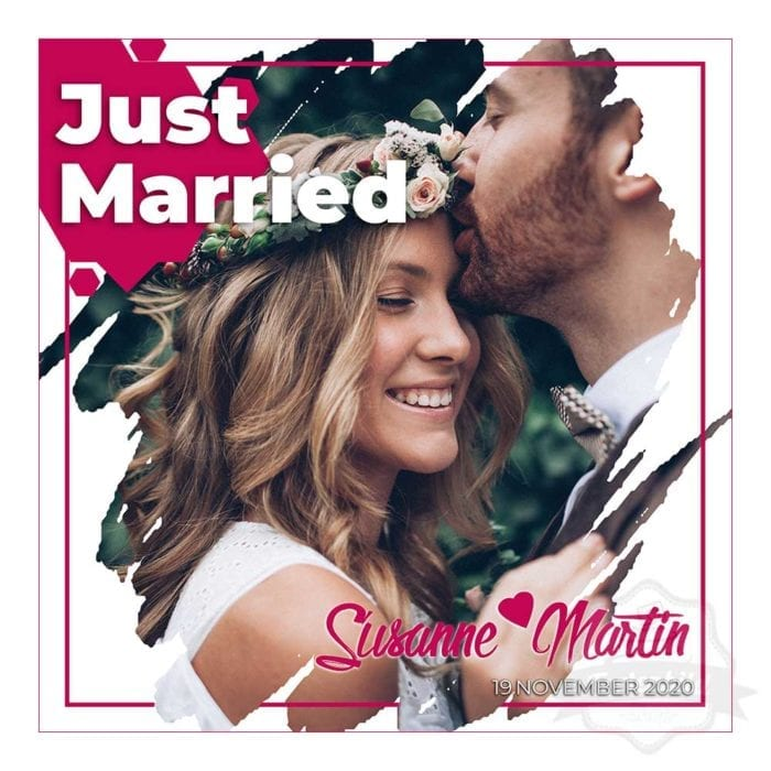 tortenbild_just_married