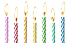 Torte Mit Kerzen Interesting Geld Zum Geburtstag Als