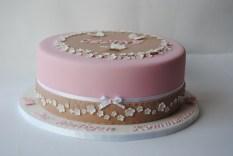Communion cake for Cecile