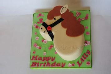 Horse cake for 3rd Birthday