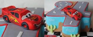 Slider - Cars Torte