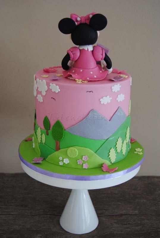Minnie Maus Torte zum 1 Geburtstag  Torteneleganz