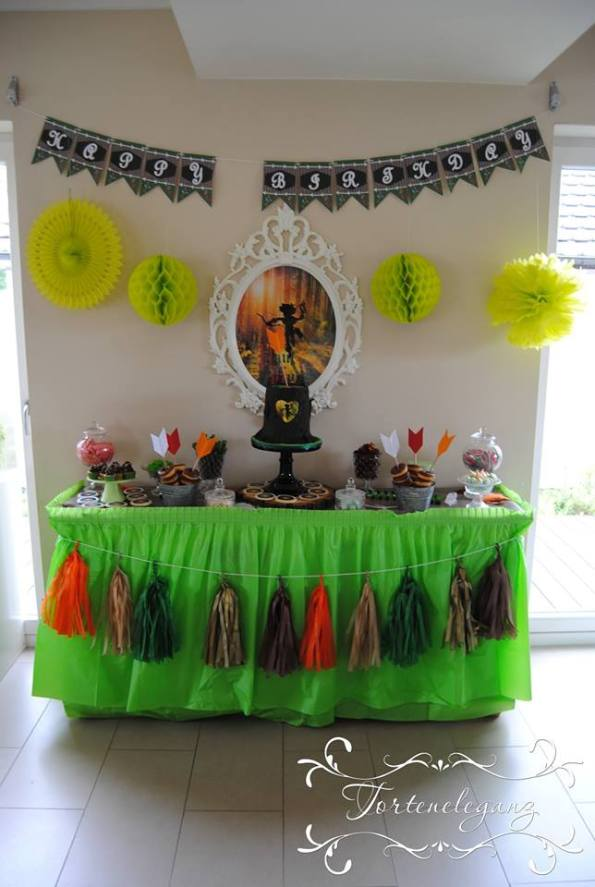 Robin Hood Torte und Candy Table Paul 4 Candy Table 1
