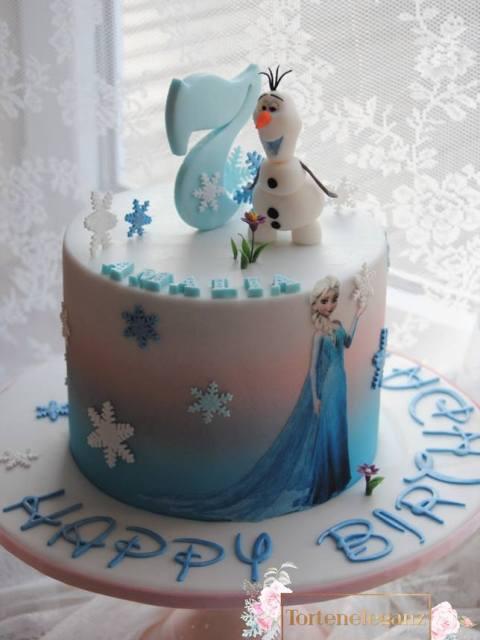 Olaf Torte die Eiskönigin Elsa Titel 2