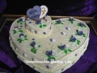 Frisch Goldene Hochzeit Deko torte | Schmuck Website