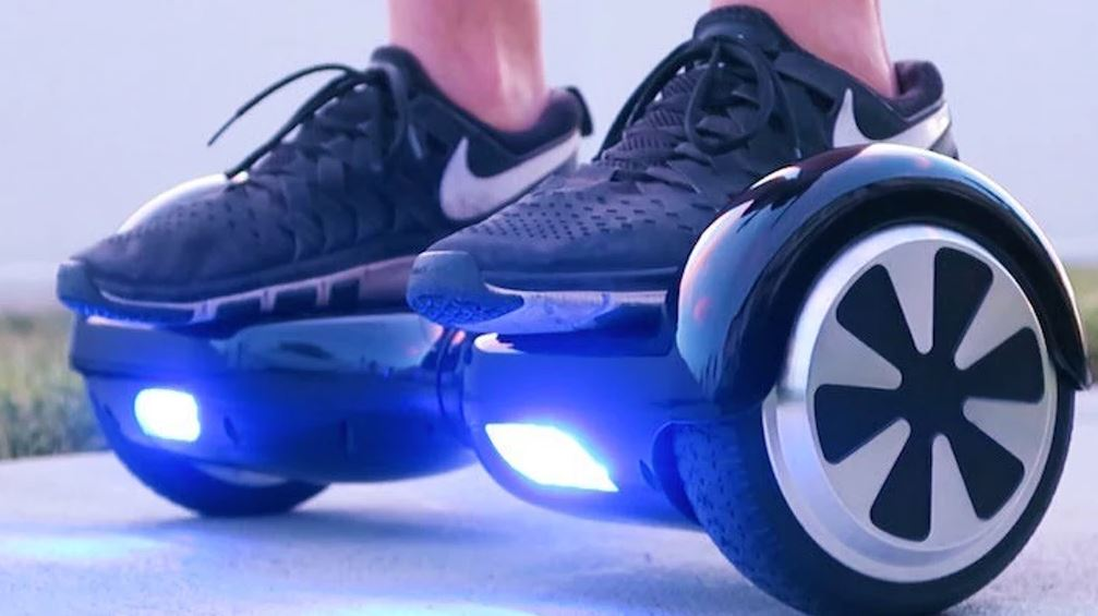 hoverboard riding