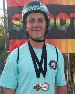 Scooter Rider Matthew Johnson