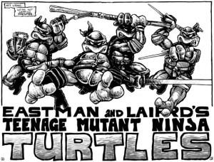 TMNT_Tortues_Ninja_Pages_2-3_comics_Mirage1