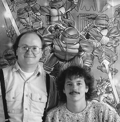 P. Laird et K. Eastman en 1986